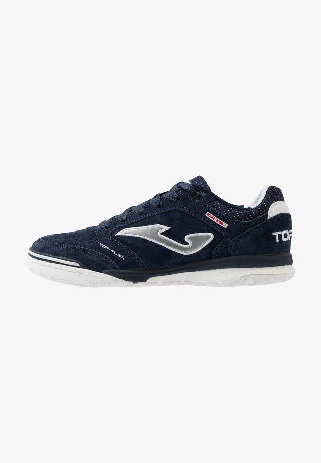 TOP FLEX REBOUND - Indoor football boots - blue