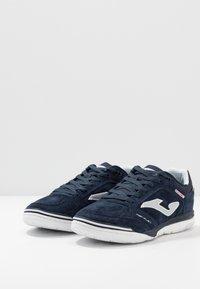 Joma - TOP FLEX REBOUND - Indendørs fodboldstøvler - blue - 2