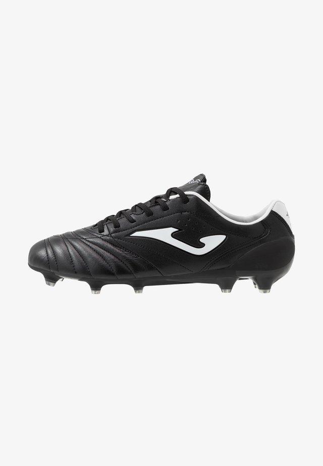 AGUILA PRO - Fußballschuh Nocken - black