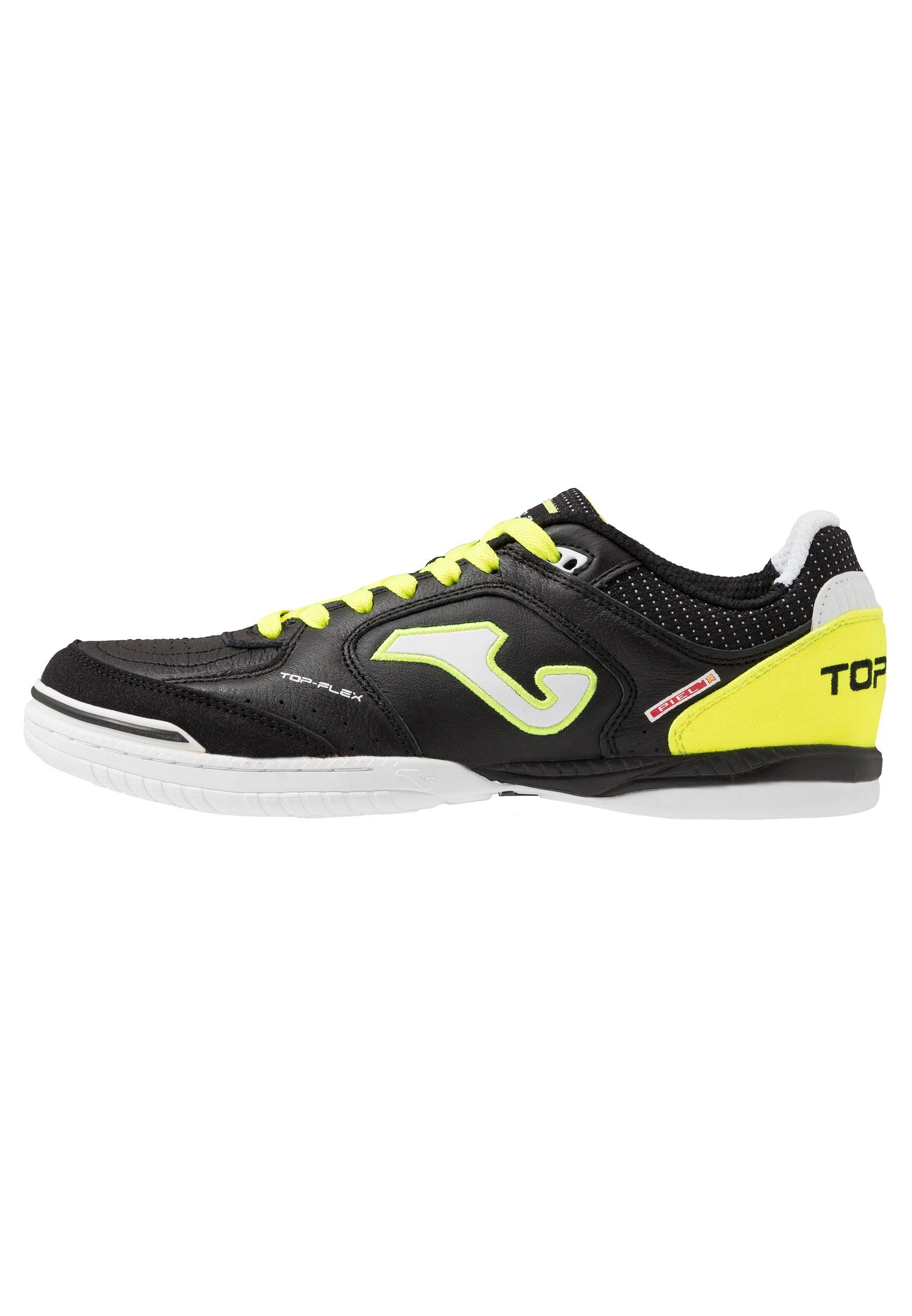 Joma Top Flex - Indoor Football Boots Black/yellow