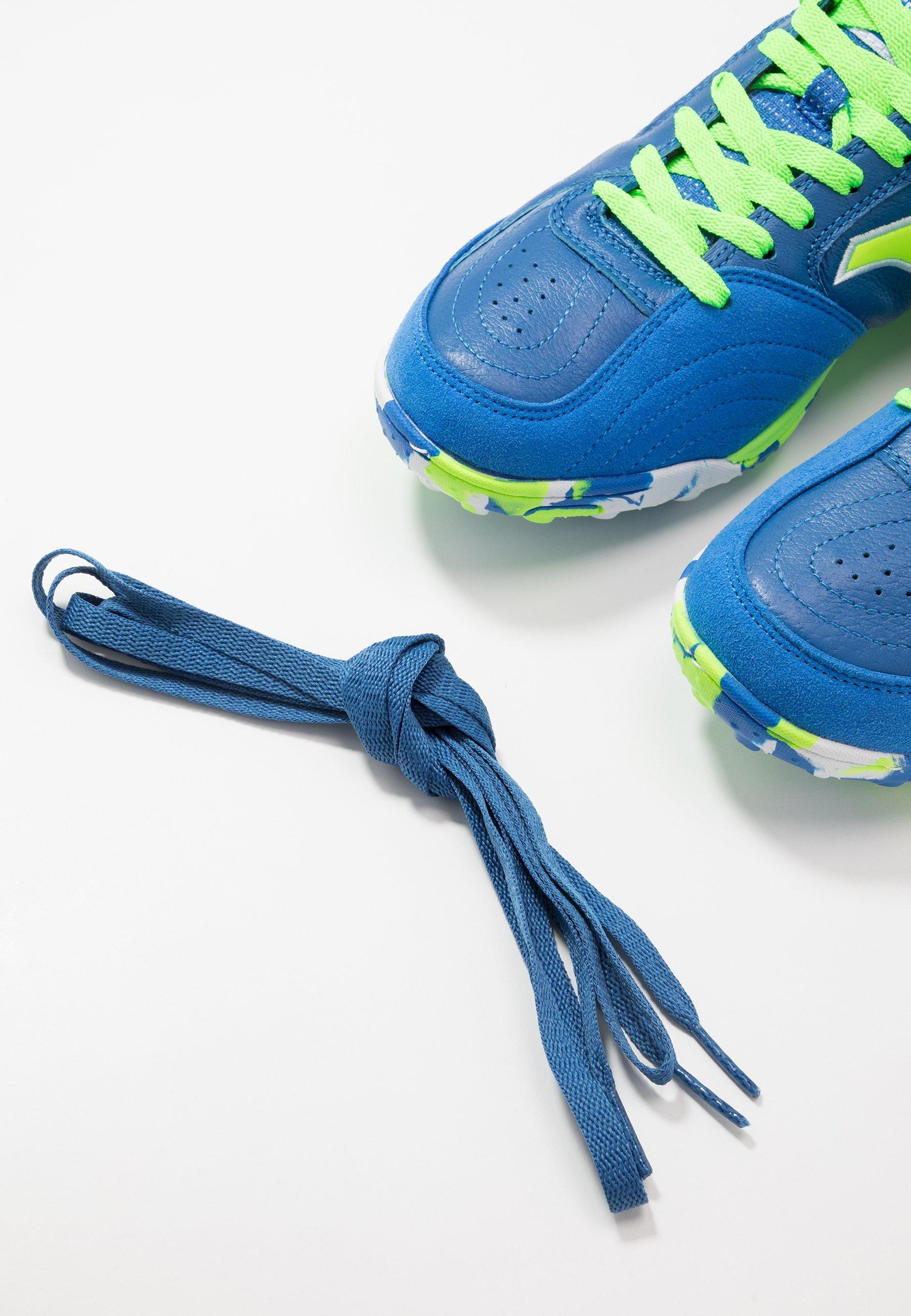 Joma Top Flex - Fotballsko For Kunstgress Blue/green