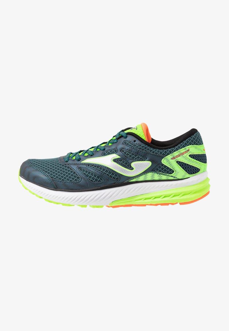 Joma - VICTORY - Obuwie do biegania treningowe - khaki/neon green