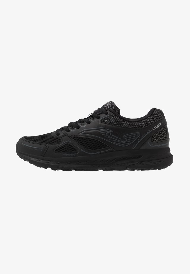 VITALY - Neutrální běžecké boty - black