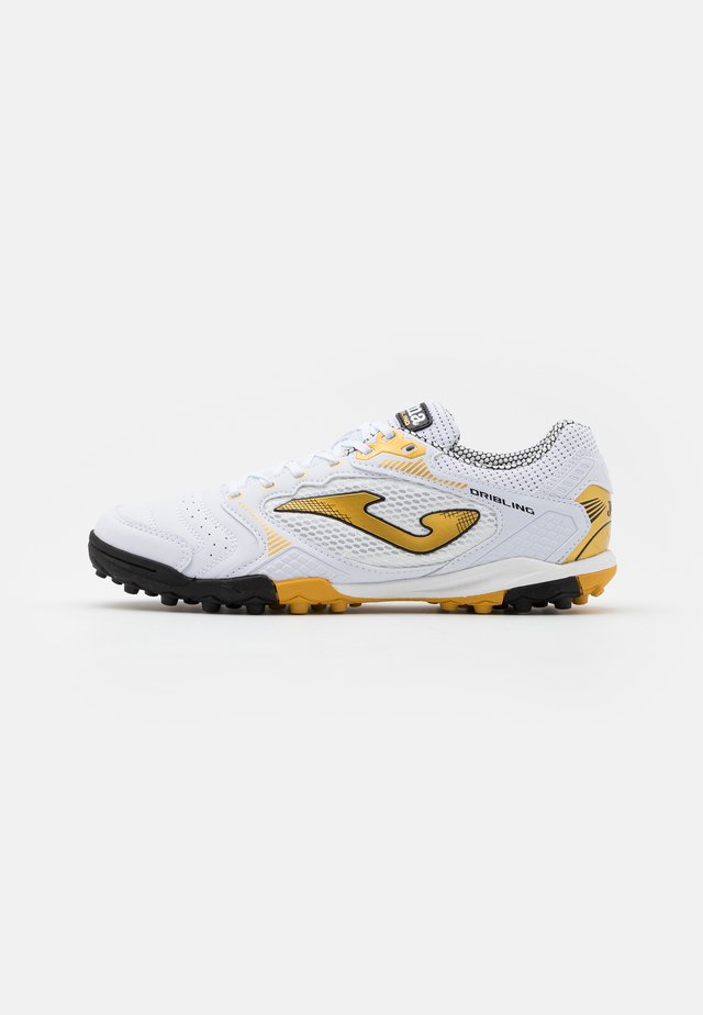 DRIBLING - Chaussures de foot multicrampons - white