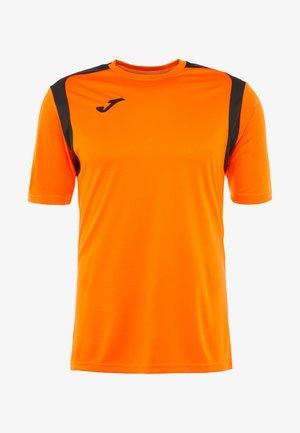 CHAMPION - T-shirt print - orange/black