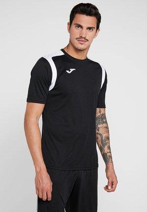 CHAMPION - T-shirt imprimé - black/white