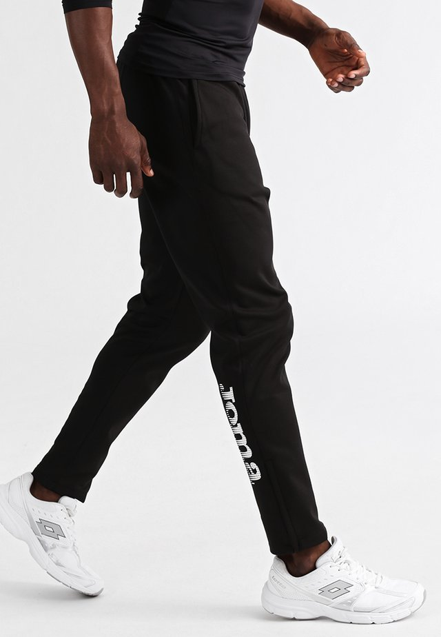 NILO - Tracksuit bottoms - black