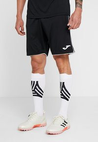 Joma - LIGA - Korte broeken - black/white - 0