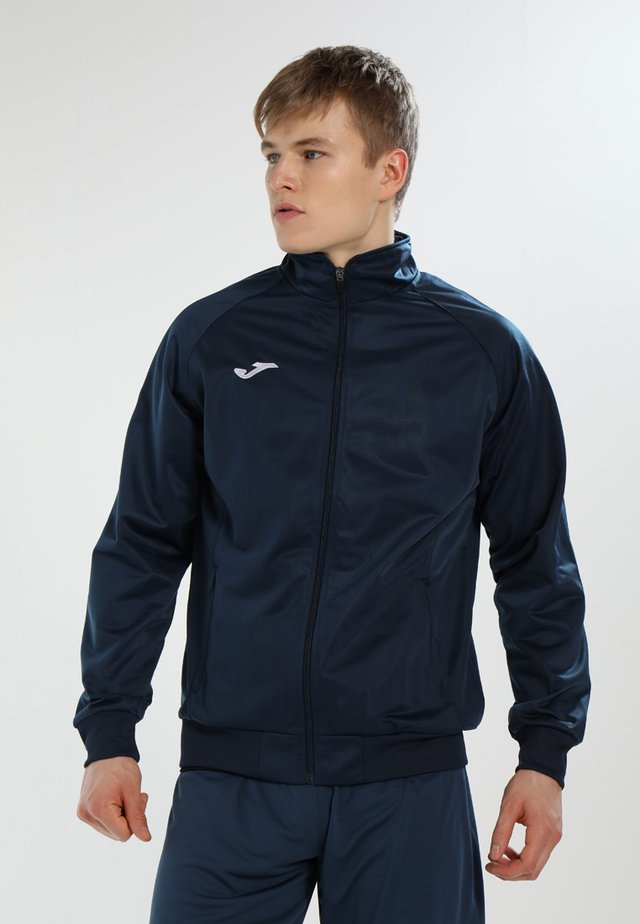 COMBI GALA - Training jacket - navy/white