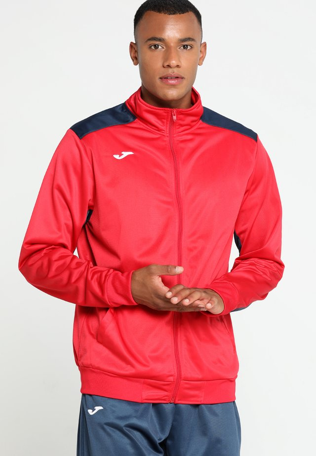 ACADEMY - Trainingspak - red/dark navy