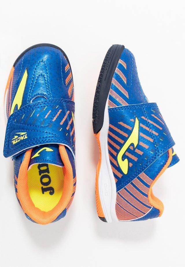TACTIL - Indoor football boots - blau