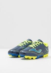 Joma - CHAMPION - Fodboldstøvler m/ faste knobber - blue - 3