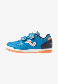 Joma - TOP FLEX JUNIOR - Indendørs fodboldstøvler - blue - 1