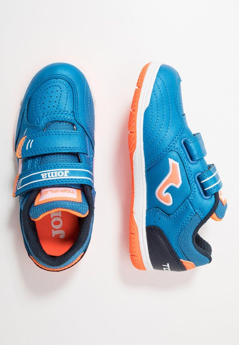 Joma - TOP FLEX JUNIOR - Indendørs fodboldstøvler - blue