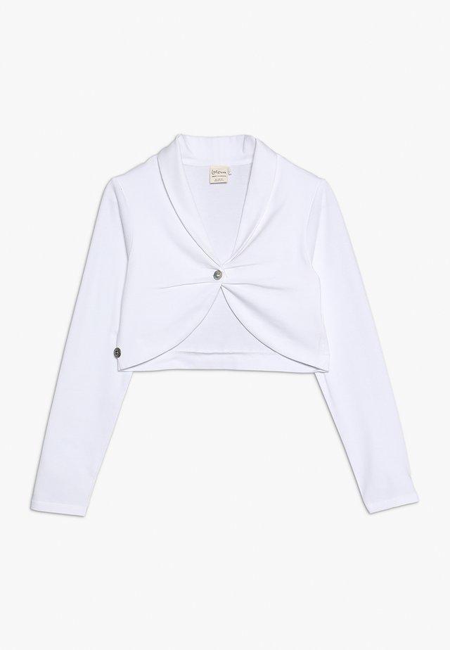KAYLEIGH - Felpa aperta - white