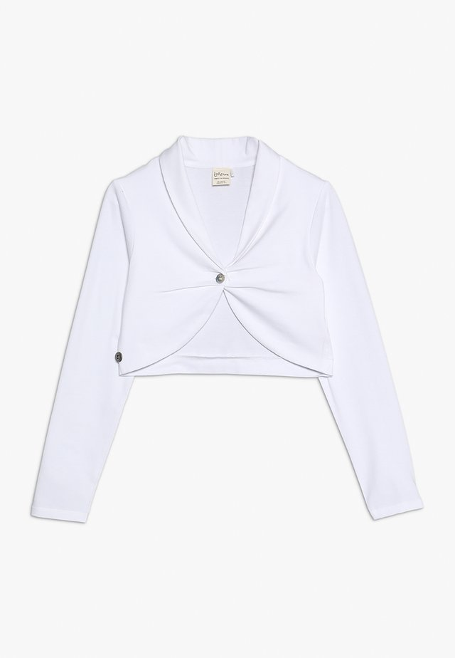 KAYLEIGH - Sweatjacke - white