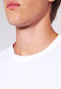 James Perse - CREW LIGHTWEIGHT - T-paita - white - 4