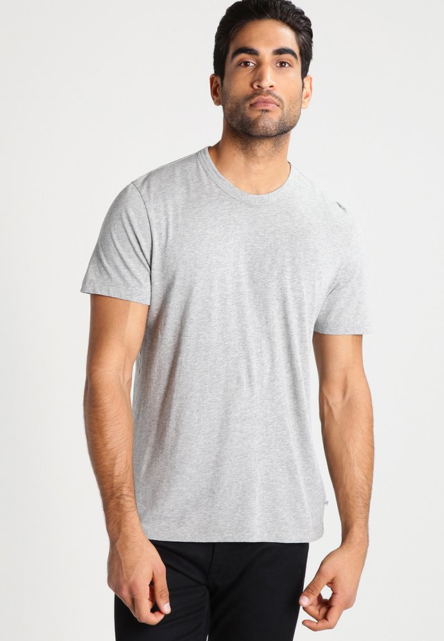 CREW - T-shirts basic - heather grey