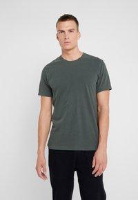 James Perse - CREW - Basic T-shirt - marsh - 0