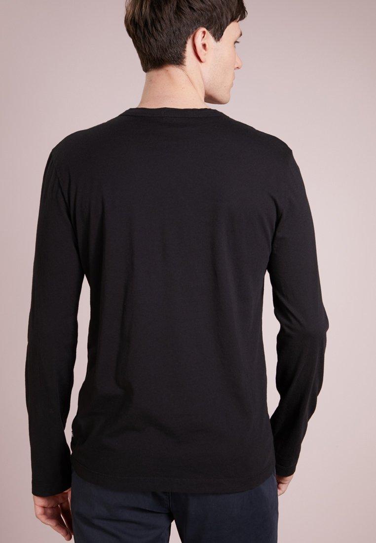 shirt Longues Manches Perse James CrewT Black À 67gbvIYfy