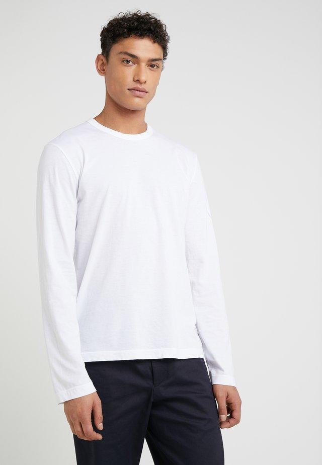 CREW NECK - Maglietta a manica lunga - white
