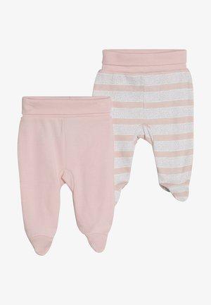 GIRLS 2 PACK - Tygbyxor - light pink