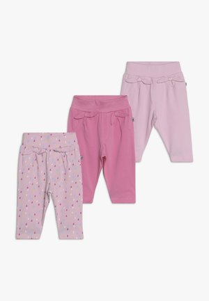 COME RAIN OR SHINE 3 PACK - Bukse - pink