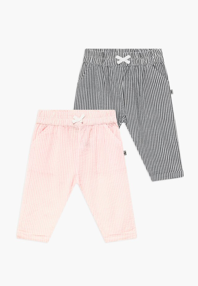 CLASSIC GIRLS 2 PACK - Trousers - light pink