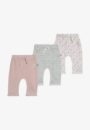 COUCOU MA PETITE 3 PACK - Pantalon classique - light pink