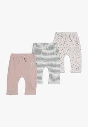 COUCOU MA PETITE 3 PACK - Kalhoty - light pink