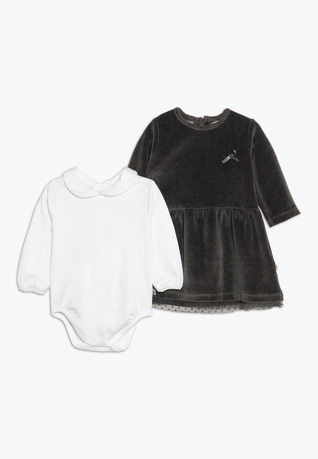 DRESSES SET - Body - dark grey