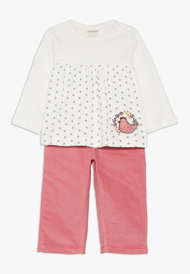 FARM SET - Trousers - orchidee