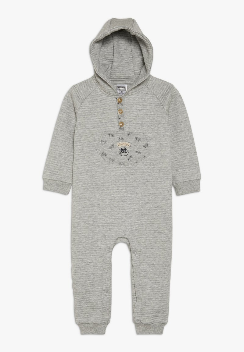 Jacky Baby - OVERALL SMART HAPPY - Overal - grau melange