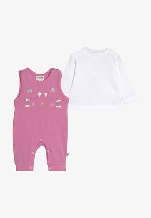 LAUFHOSEN RAIN OR SHINE 2-IN-1 - Jumpsuit - pink/weiß