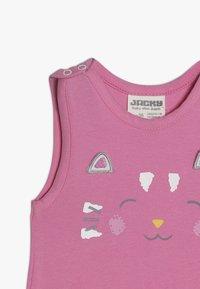 Jacky Baby - LAUFHOSEN RAIN OR SHINE 2-IN-1 - Jumpsuit - pink/weiß - 5