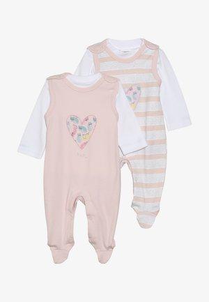SET GIRLS 2 PACK - Babygrow - light pink
