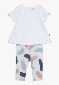 Jacky Baby - TUNIKADRESSES SET - Leggings - Trousers - weiß - 0
