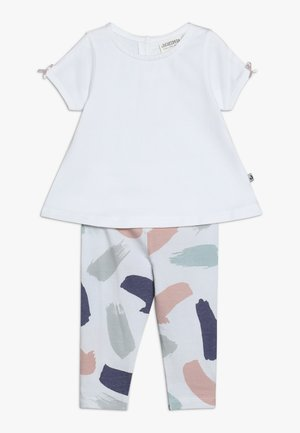TUNIKADRESSES SET - Leggings - Trousers - weiß