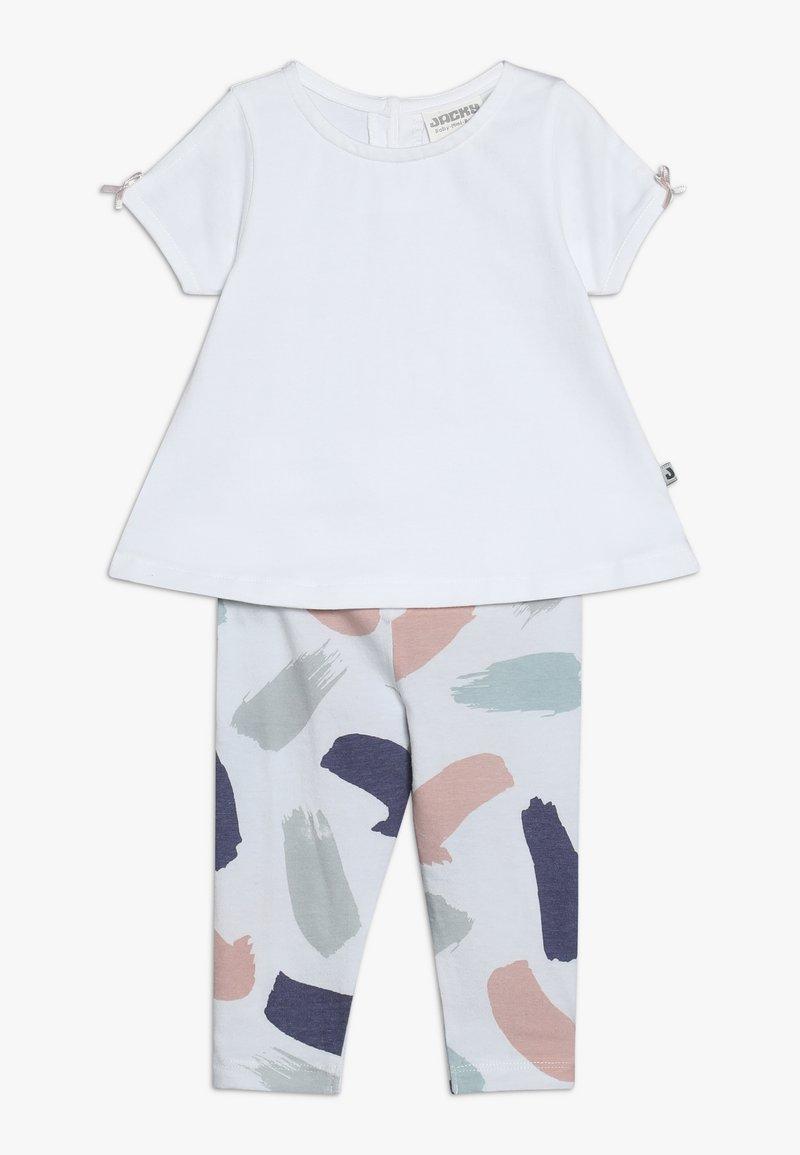 Jacky Baby - TUNIKADRESSES SET - Leggings - Trousers - weiß
