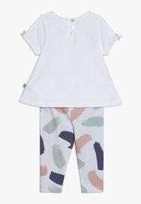 Jacky Baby - TUNIKADRESSES SET - Leggings - Trousers - weiß - 1