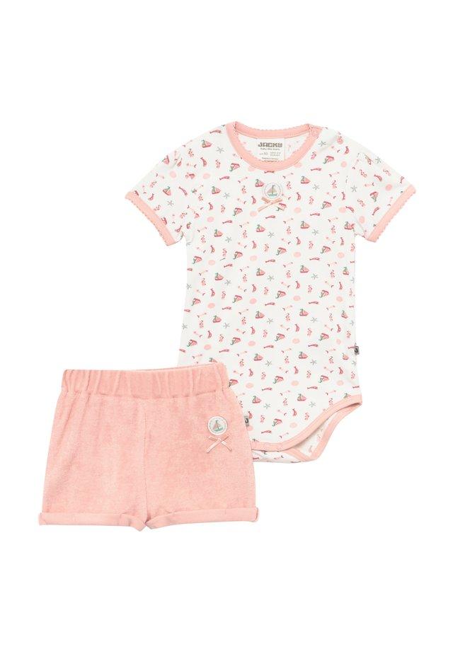 MA PETITE SET - Trousers - pink