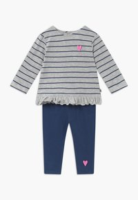 Jacky Baby - KOALA BEAR SET - Leggings - Trousers - light grey/dark blue - 0
