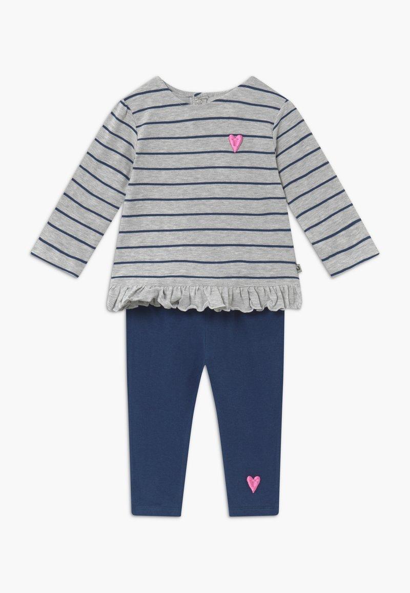 Jacky Baby - KOALA BEAR SET - Leggings - Trousers - light grey/dark blue