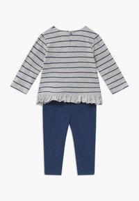 Jacky Baby - KOALA BEAR SET - Leggings - Trousers - light grey/dark blue - 1