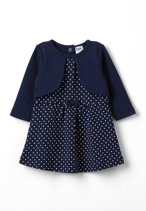 LANGARM CLASSIC - Jersey dress - dunkelblau