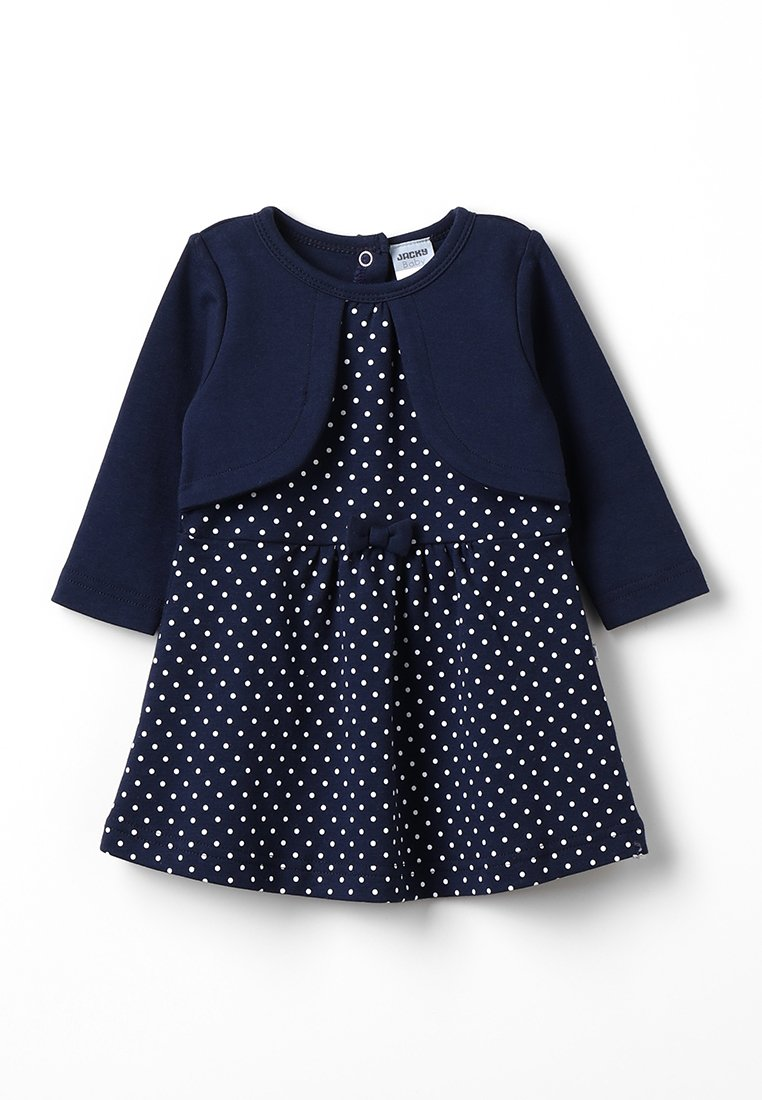 Jacky Baby - LANGARM CLASSIC - Jerseykleid - dunkelblau