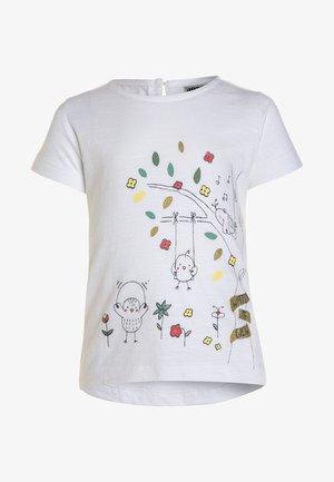FLY AWAY  - Print T-shirt - weiß