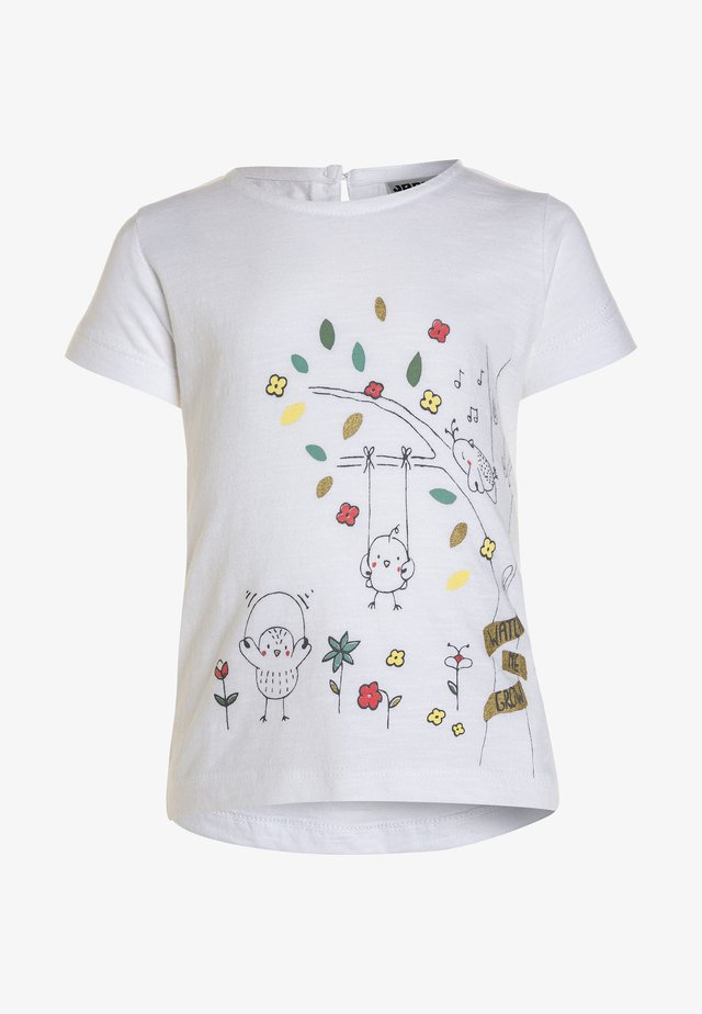 FLY AWAY  - T-shirt print - weiß