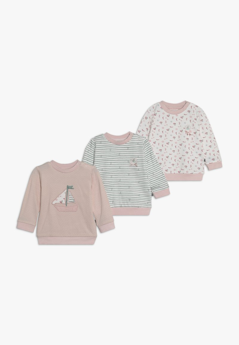 Jacky Baby - PACKCOUCOU 3 PACK - T-shirt à manches longues - light pink