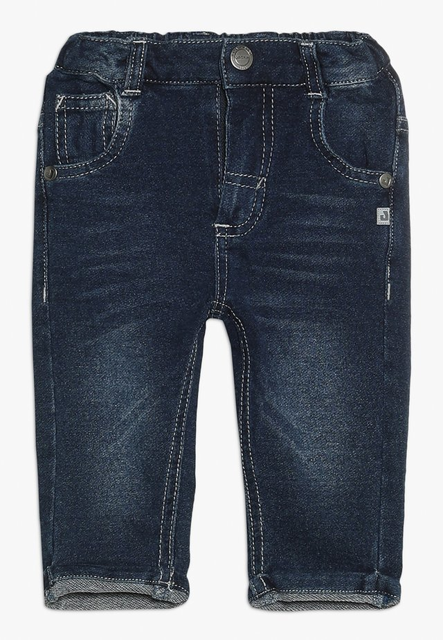 UP IN THE AIR - Tracksuit bottoms - blue denim
